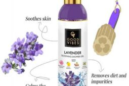 Good Vibes Lavender Shower Gel-Product Review.